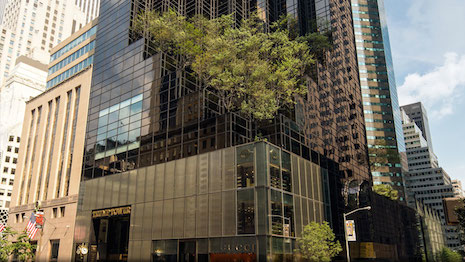 Trump Tower in midtown Manhattan