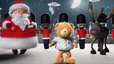 Harrods' A Very British Bear Tale, holiday 2016