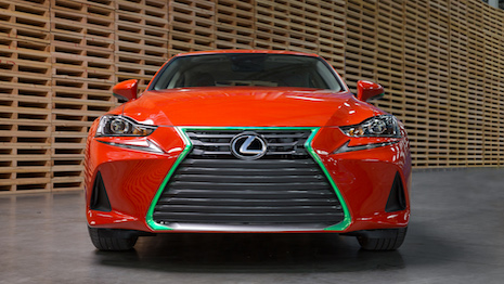Lexus Sriracha IS custom model