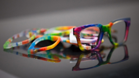 Safilo prototypes created using a 3D printer