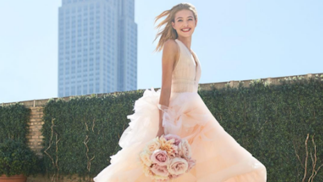 Carolina Herrera's bridal experience was reimagined by students