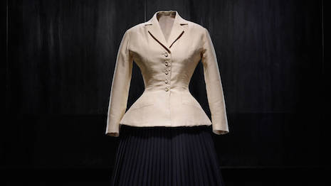 Bar suit from Christian Dior's spring/summer 1947 couture collection