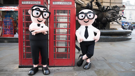 Dolce & Gabbana's mascots in London
