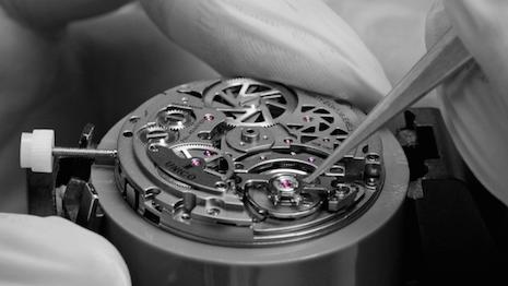 Hublot watchmaking in progress