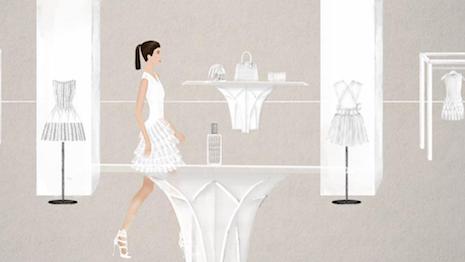 Animated still for Alaïa Eau de Parfum Blanche