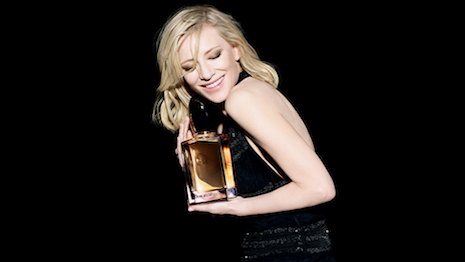 Cate Blanchett for Armani Beauty's Sì fragrance