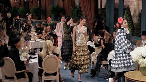 Chanel's 2016/17 Métiers d'Art show, presented at the Ritz Paris Hotel