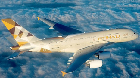 Photo courtesy of Etihad Airways
