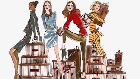 Image courtesy of L Brand's Henri Bendel