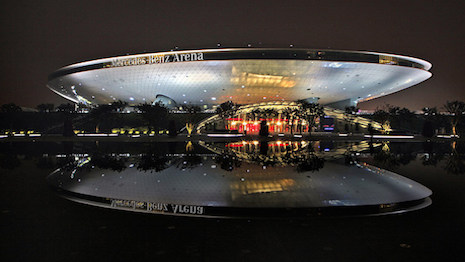 Mercedes-Benz Arena, Shanghai