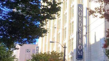 Nordstrom marquee sign