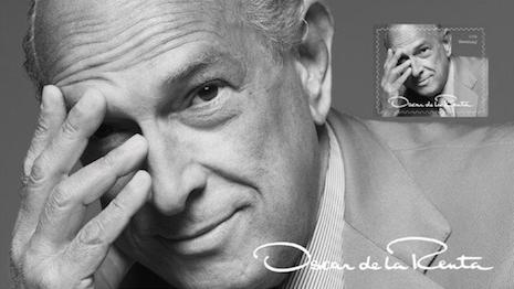 Oscar de la Renta 2017 stamp