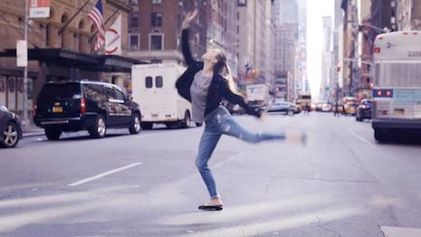 Isabella Boylston for Saks Fifth Avenue