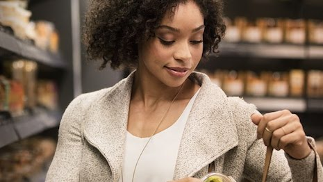 Amazon go is an example of the synergy between mobile and physical retail