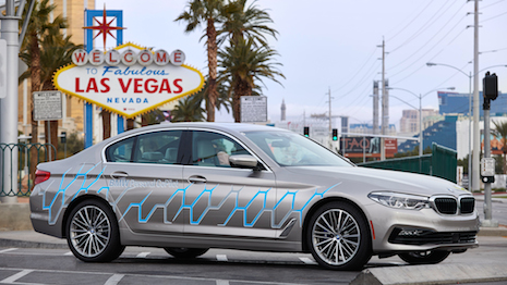 BMW 5 Series Connected Mobility in Las Vegas