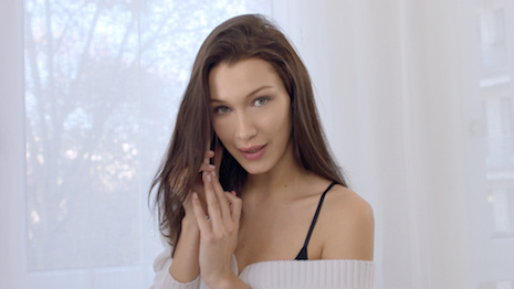 Bella Hadid in the Dior Makeup Series' The Call Time