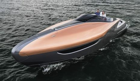 Lexus' sport yacht concept
