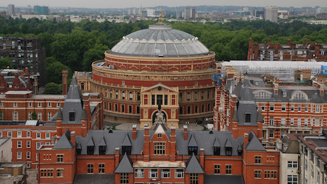 London's Royal Albert Hall, photo courtesy of Harrods Estates