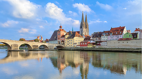 European river cruise, image courtesy of Travel Leaders Group