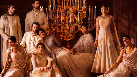 Tarun Tahiliani is one of India's most storied luxury designer brands, known for its opulent ensembles and detailed craftsmanship