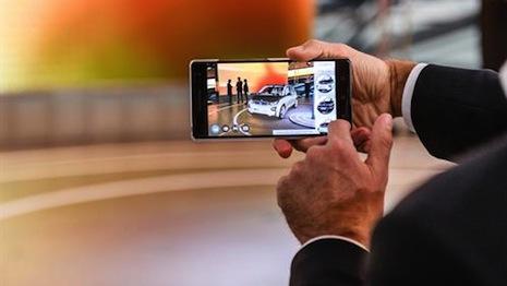 BMW's AR app