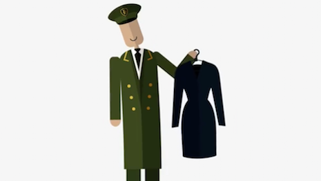 Harrods' Mobile Store Guide, animated still