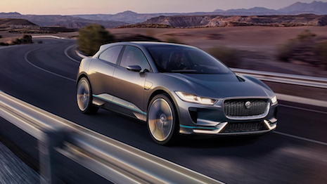 Jaguar's 2017 I-Pace will include CloudCar technology