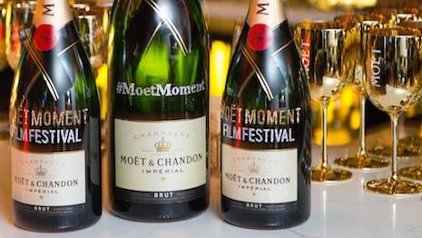 Promotional image for Moët Moments Film Festival