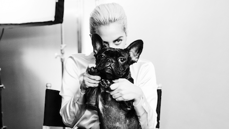 Lady Gaga for Tiffany & Co.'s Legendary Style campaign; Photo by Hanna Besirevic