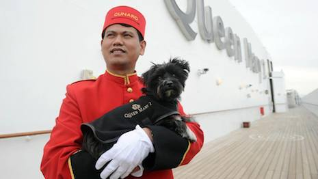 Cunard's Queen Mary 2 included more kennel room in its redesign