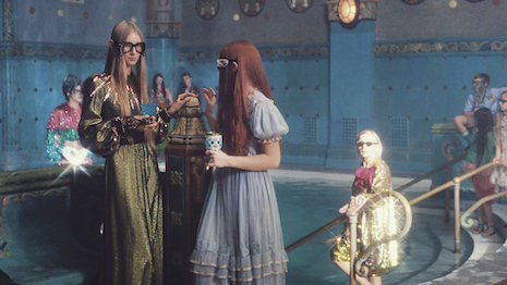 Image from Petra Collins' Gucci film
