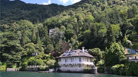 Lake Como villa for sale through Knight Frank