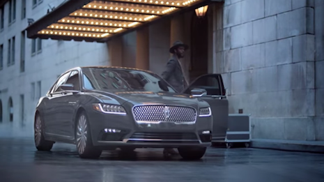 Lincoln Continental tv spot