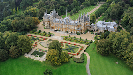 Waddesdon Manor, a stately home in the village of Waddesdon, Buckinghamshire, England. Built by Ferdinand de Rothschild, the house is now part of the National Trust. Photo credits: Dianne Dubler and John Taylor