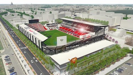 Computer rendering of Audi Field in Washington