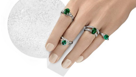 Fabergé emerald rings