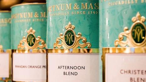 Fortnum & Mason tea canisters