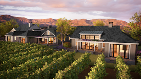 Rendering of homes at Four Seasons Resort and Residences, Napa Valley, CA