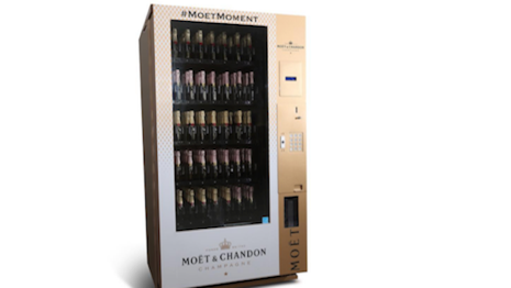 Moët & Chandon's Moët Mini Vending Machine