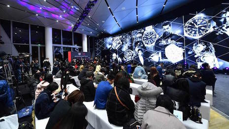 Tag Heuer Tmall.com launch event in China
