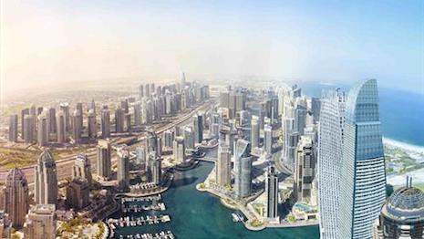 Bentley's Gigapixel image taken in Dubai