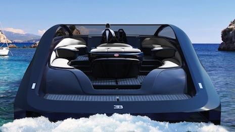 Bugatti's Niniette yacht