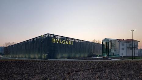 Manifattura Bulgari in Valenza, Italy