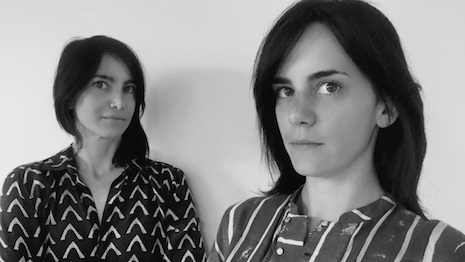 Cecilia (left) and Elena Maresca, founders of London-based Maresca Interiors
