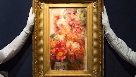 Renoir painting on sale at Christie's in London