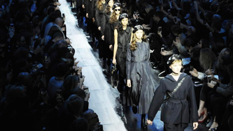 Dior's fall/winter 2017 runway show