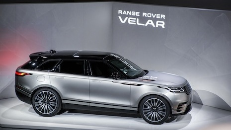 Range Rover Velar exhibit