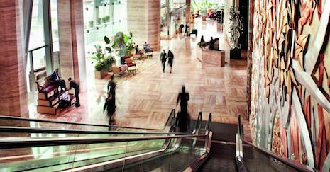 Ritz Carlton.Pudong shanghai lobby