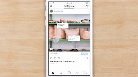 Instagram shopping feature