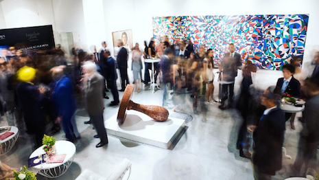 Opening exhibit at Sotheby's Dubai